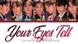 BTS Your Eyes Tell